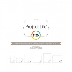 Photo Pages Protector Small Variety Pack 1 - Pack 12 fundas