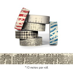 Houndstooth Paper Tape