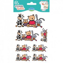Sticker Textile - Mes amis
