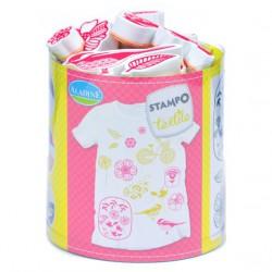Set Stampo Textile - Fleurs