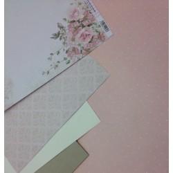 Kit 001 - Libro de Firmas con espiral tapada