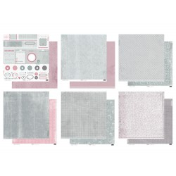 "Kit Versatil de Collage de memories - 12""x12"""