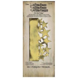 Troquel Bigz - Tim Holtz - Alterations Collection - On the Edge Die - Sewing Edge