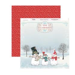 "Dayka SCP-170 ""Dulce Navidad"" - Muñecos de Nieve"