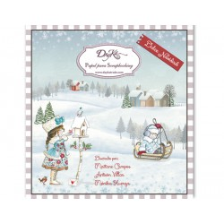 "Dayka SCP-1011 Block 24 hojas ""Dulce Navidad"""