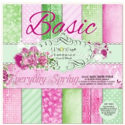 BASIC Everyday Spring - Lemon Craft Stack 12x12