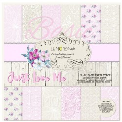 BASIC Just Love Me - Lemon Craft Stack 12x12