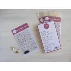 """Sellos silicona """"Mi Calendario"""" - Pega papel o Tijeras"""