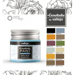 Paint Happy Colors - Carrotcake by Vallejo