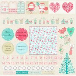 Tiempo de Navidad - Sra Granger Set 12x12
