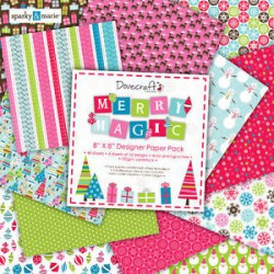 Merry Magic - Dovecraft Kit 8x8