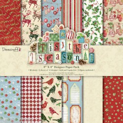 Tis The Season- Dovecraft Kit 8x8