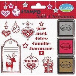 Stampo Noel Christmas - Rouge