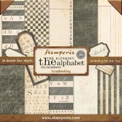 The Alphabet - Stampería Stack 12x12
