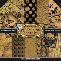 Steampunk Fantasy - Stampería Stack 12x12