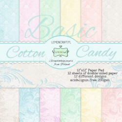 BASIC Cotton Candy - Lemon Craft Stack 12x12