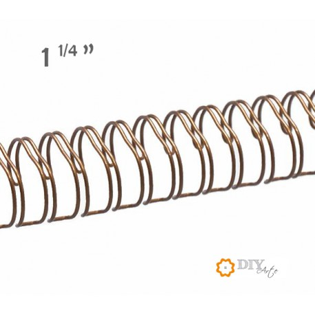 "Wire Oro Bronce 1-1/4"" (Ø 31,8 mm)"