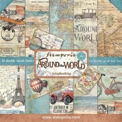 Around the World - Stampería Stack 12x12