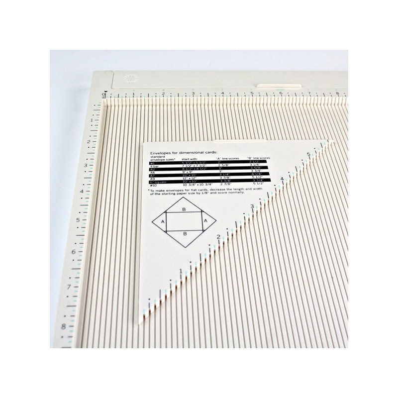 martha stewart scoring board projects Martha stewart scoring board score board the plastic design is lightweight, yet its 12 inch x 12 inch size is perfect for paper crafting projects of all sizes.