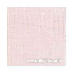 Tela de encuadernación (50×50 cm) - Color Lino rosa rustic