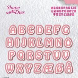 Alphabet 3 - Shape Dies - Nellie Snellen