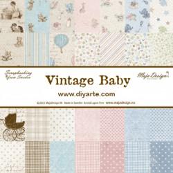 "Vintage Baby - Maja Design Stack 12""x12"""