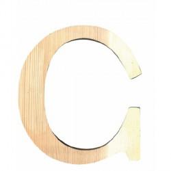 Letra de Madera Artemio - 11,5 cm - C