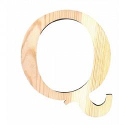 Letra de Madera Artemio - 11,5 cm - Q