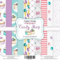 "Candy Shop - Fabrika Decoru Stack 12""x12"""