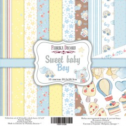 """Sweet Baby Boy - Fabrika Decoru Stack 12""""x12"""""""