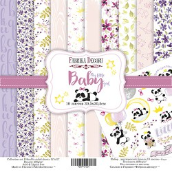"My little baby girl - Fabrika Decoru Stack 12""x12"""