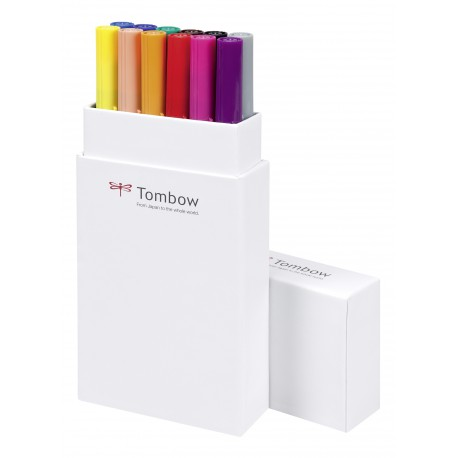 Colores Primarios - Set de 12 rotuladores - Dual Brush Tombow