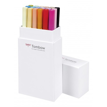 Colores Primarios - Set de 18 rotuladores - Dual Brush Tombow