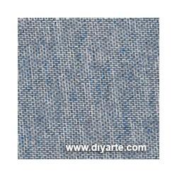 Tela de encuadernación (50×50 cm) - Color Lino Azul Vaquero