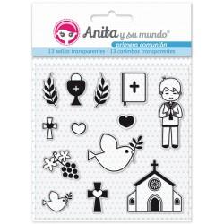 Sellos Primera comunión Él - Anita y su Mundo