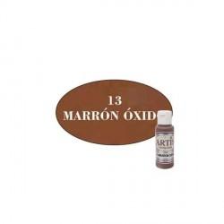 13 Marrón óxido - Acrílico Artis 60ml - Dayka