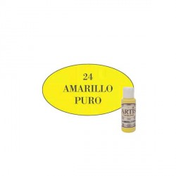 24 Amarillo puro - Acrílico Artis 60ml - Dayka