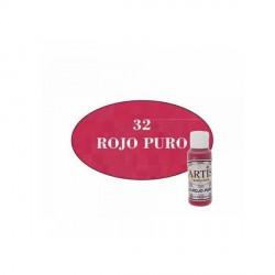 32 Rojo puro - Acrílico Artis 60ml - Dayka