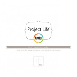 Photo Pages Protector Diseño A - Pack 12 fundas