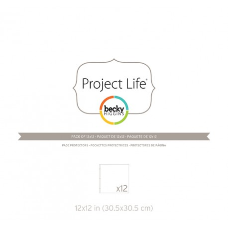 Photo Pages Protector 12x12 - Pack 12 fundas