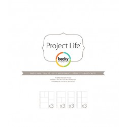 Photo Pages Protector Diseño F - Pack 12 fundas