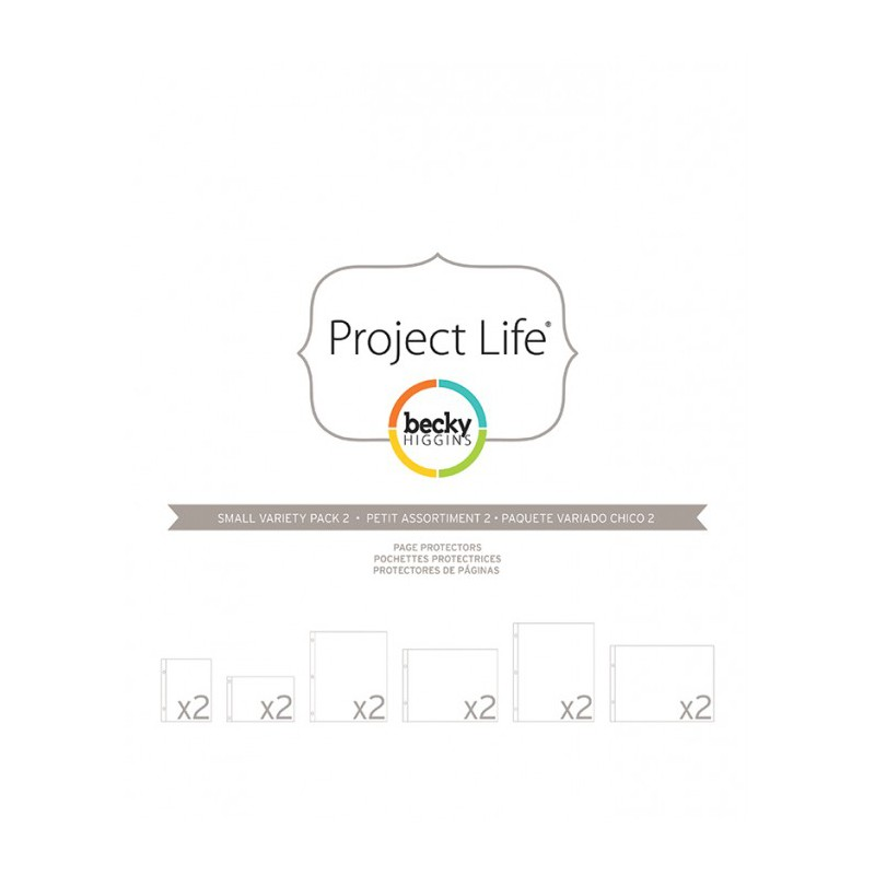 photo pages protector small variety pack 2