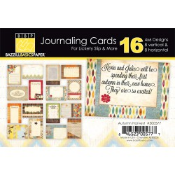 Journaling Cards Autumn Harvest 4×6