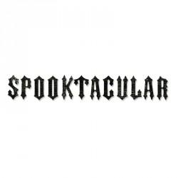 Alfabeto dieñado por Tim Holtz - Spooktacular