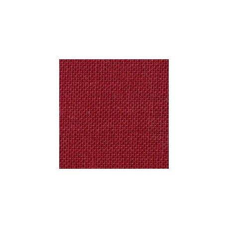 Lino Belfast 12,6 Hilos (32 counts) - Color Ruby Wine (9060)