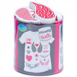 Set Stampo Textile - Love & Chic
