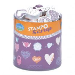Set Stampo Scrap - Coeurs
