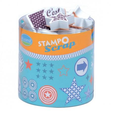Set Stampo Scrap - Fleurs