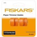 Recambio 2 cuchillas Fiskars Titanium