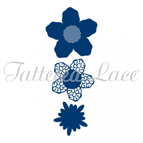 Tattered Lace Dies - Lavish Blooms Aster